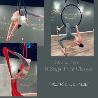 Straps, Lyra, Single Point Aerial ats